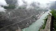 航拍中國第二大水電站溪洛渡水電站工程, 是壯觀來形容怎么樣?