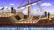 加菲貓幻想自己是海盜還擁有一艘海盜船!