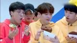 《偶像練習生》蔡徐坤和朱正廷就是兩個活寶, 吃個東西還要皮一