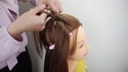 儿童爱心发型步骤 超漂亮的小女孩编发发型