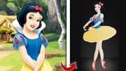 小朋友想要成为迪士尼公主,真有意思