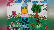 【上集】岫光小学张红君学生绘画作品集(一年,二年级学生作品)图片