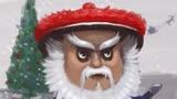 中国版的圣诞老人造型霸气 撞脸海王的徐锦江化身圣诞老人