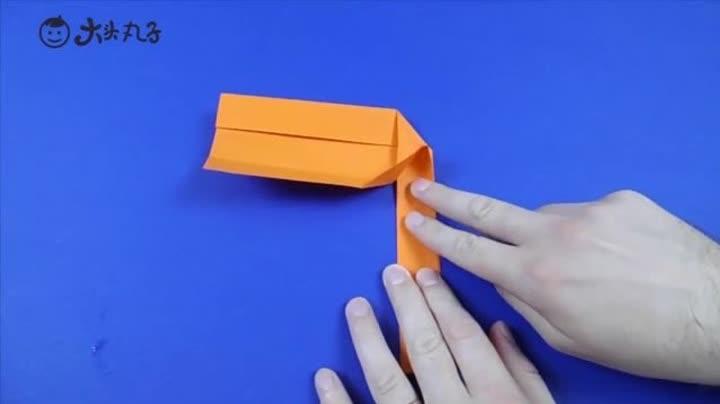 几分钟教孩子做一个回旋镖,好玩又有趣,手工折纸