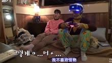 安宰贤教具惠善玩VR游戏机