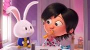 【爱宠大机密2】发布兔子雪球的预告,有酷炫衣服穿,变成超能兔
