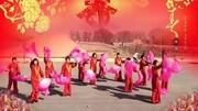2015殷家廣場舞春節新年最新廣場舞 鴨梨大 京劇臉譜 大時代 扇子
