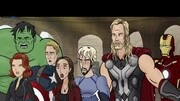 超酷复仇者联盟2奥创世纪预告片复联内战钢铁侠美队会重归于好吗