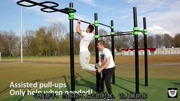 引體向上技巧 引體向上標準動作與呼吸