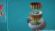 3D動畫演示大型水電站水輪機的工作原理,非常直觀有趣