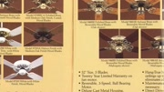 FASCO (F.A.Smith Company) Ceiling Fan Catalog from 1987