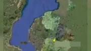 卫星地图下,四川的成都、重庆两大城市发展对比,哪个更强?