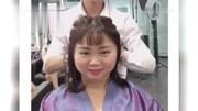 盘点圆脸女星瘦脸发型