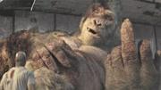 兩分鐘看完《狂暴巨獸》超級巨狼巨猩大戰恐怖鱷魚,侏羅紀既視感