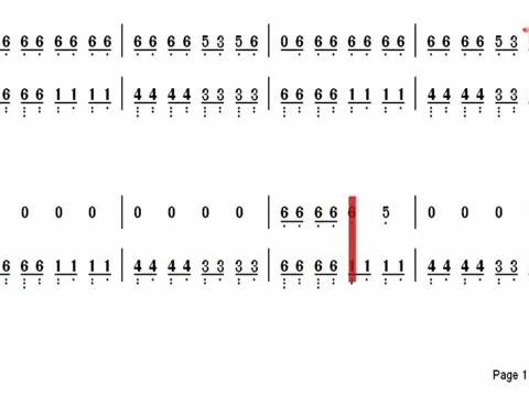 视听简谱《98k之歌》钢琴简谱弹奏版, 最近一首98k之歌算是爆红网络!