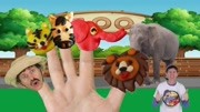 Finger Family Song - Zoo Animals ...n English Kids