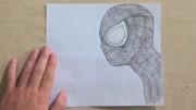 手掌上也能作三维立体画,国外男子在手掌上绘画,图案栩栩如生