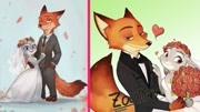 瘋狂動物城(片段)兔子警官朱迪認愛狐貍尼克