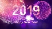 新年快乐,万事如意。2019米库纪念壁纸