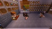 迷你世界民間電影7:爺爺做法抓僵尸,小夢身體里的小鬼冒出頭來
