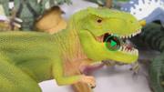 幼儿色彩启蒙 恐龙3D模块拼装玩具 给各种侏罗纪恐龙拼图