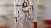Lady gaga戴1億人民幣項鏈亮相奧斯卡紅毯 128克拉