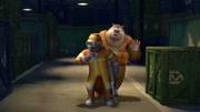 熊出沒之奪寶熊兵:光頭強控制了天才威的機器人
