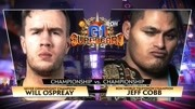 ROH NJPW 2019.04.07 G1 Supercard :Jeff Cobb vs. Will Ospreay
