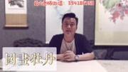 丹青纸墨轩:洛阳国画牡丹小写意,叶子枝干画法视频学习教程