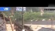 湖南古丈:暴雨引發山體滑坡泥石流