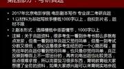 2018年北京电影学院电影文学系剧本创作考研 参考书 真