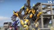 纸板制作变形金刚服装,趴着是一辆超跑,站起来就是大黄蜂