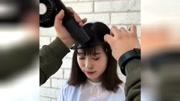 漂亮的韓式劉海,適合太陽穴凹陷的姑娘!
