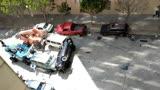【游民星空】《蟻人與黃蜂女》汽車特技拍攝現場