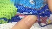 十字繡珠繡車掛件縫合教程
