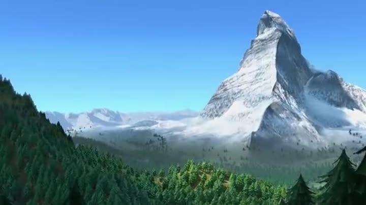 藏风景高清视频