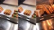 韓國農村小伙:用鐵鍋做炒年糕加魚餅串,吃滿嘴辣醬,看著真饞人