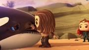 男孩在水族馆被同学欺?#28023;?#32467;果被鲨鱼所救,原来男孩竟是海王