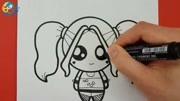 畫一個基本的漫畫女孩