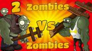 植物大戰僵尸動畫片游戲:小綠人我的世界大戰豌豆?