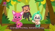 Monkey Banana _ Dance Dance Pinkf...s for Children