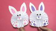 吹氣兔子-折紙教學