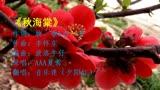 《秋海棠》夕陽紅演唱