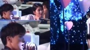 楊紫,鄧倫臺下的甜蜜互動!
