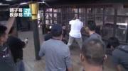 泰森拍摄《叶问3》时的一段访问,谈甄子丹,谈李小龙和截拳道