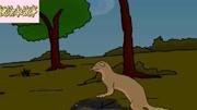 猫咪捕捉黄鼠狼,难逃一劫
