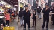 香港元朗区通过议案 支持香港警方依法止暴制乱
