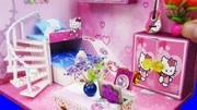芭比娃娃梦幻双层床儿童装扮过家家玩具
