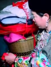 湖南湘西永順縣農村結婚風俗:娘家人哭嫁