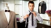 男士时尚:温莎结领带打法